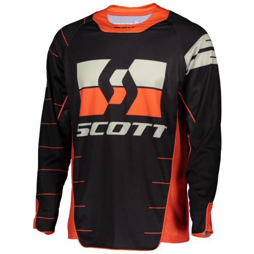 Scott Endurotröja Svart/Orange