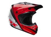 Fox Crosshjälm V3 CR Race Röd/Carbon