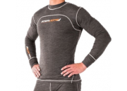FXR Vapour 50% Merino Top-Grey