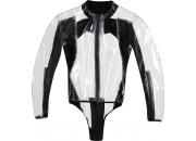 Dainese Regnjacka/Body Racing D1 Transparent/Svart