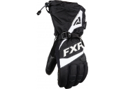 FXR Skoterhandskar Fuel Svart/Vit