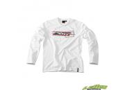 Scott T-Shirt L/SL Logo Vit