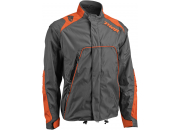 Thor Endurojacka Range Charcoal/Orange
