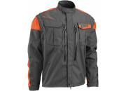 Thor Endurojacka Phase Charcoal/Orange