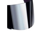 X-Lite Visir Im&Reptålig Matt X-801 Silver Spegel