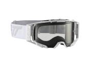 Leatt Crossglasögon Velocity 6.5 Vit/Grå/Ljusgrå