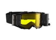 Leatt Crossglasögon Velocity 6.5 Roll-Off Svart/Grå-Gul siktskiva