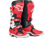 Alpinestars Crosstövel Tech 10 Svart/Röd