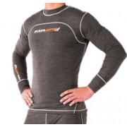 FXR Vapour 50% Merino Top-Grey