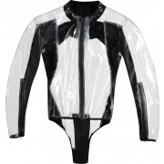 Dainese Regnjacka/Body Racing D1 Transparent/Svart