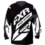 FXR Crosströja Clutch MX Svart/Vit
