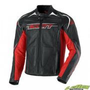 Scott Skinnjacka Blouson Racer Svart/Röd