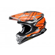 Shoei Hjälm Cross VFX-WR Glaive Tc-8 Orange/Silver