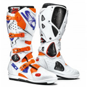 Sidi Crosstövel Crossfire 2 SRS Fluo Orange/Vit/Blå