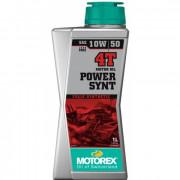 Motorex Motorolja Power Synt 4T 10W/50 1Liter