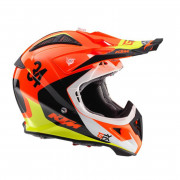 KTM Crosshjälm Aviator 2.1 Orange