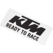 KTM Dekal Svart/Vit (8,4x3,4cm)