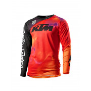 KTM Crosströja SE Slash Svart/Orange