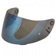 Shoei Visir CX-1 Spegel Blå (Pinlock förberedd)