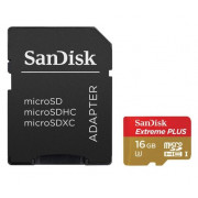 Sandisk Extreme Plus Micro-Sd-Kort Gb 80Mb/s