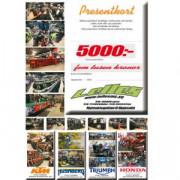 Presentkort 5000kr