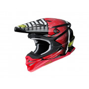 Shoei Crosshjälm VFX-WR Blazon Tc-1 Röd/Svart
